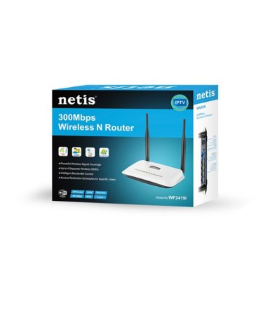 NETIS Router DSL WiFi G/N300 + LANx4 + IP TV