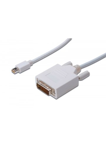 ASSMANN Kabel DisplayPort 1.1a mini DP-DVI TypA MM 1.0m