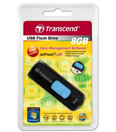 Transcend JETFLASH 500 8GB USB2.0 BLACK