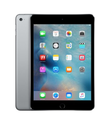 Apple iPad mini4 128GB W&C Space Gray        MK762FD/A