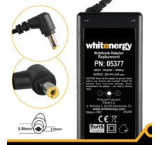 Whitenergy Zasilacz 20V | 3.25A 65W wtyk 5.5*2.5mm  05377
