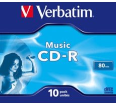 Verbatim CD-R Audio 80min 10P JC 43365