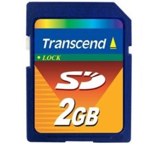 Transcend Karta pamięci SD Secure Digital 2GB 20/13 MB/s