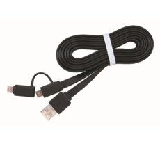 Gembird Kabel USB AM->Micro-BM/ Lightning Apple 1m