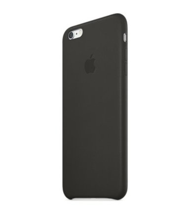 Apple IPHONE 6 PLUS LEATHER CASE CASE BLACK MGQX2ZM/A