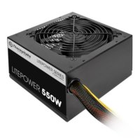 Thermaltake Litepower II Black 550W (Active PFC, 2xPEG, 120mm, Single Rail)