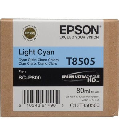 Epson Singlepack Photo Light Cyan cartridge, T850500