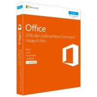 Microsoft Office 2016 Home & Business PL Win 32-bit/x64 P2  T5D-02786. Stare SKU: T5D-02439