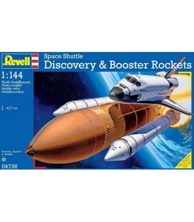 Space Shuttle Discovery & Booster Rockets