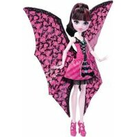 MONSTER HIGH Draculaura Wampiskrzydła 2w1