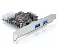 Delock Karta PCI-Express->2xUSB 3.0 + Low profile