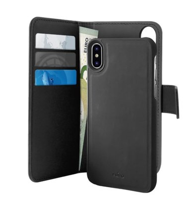 PURO Etui 2w1 Wallet Detachable do iPhone XR
