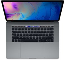 Apple MacBook Pro 15 Touch Bar, 2.6GHz 6-core 9th i7/16GB/256GB SSD/RP555X - Space Grey