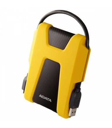 Adata Dysk twardy Durable HD680 2TB microUSB3.0 Yellow