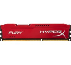 HyperX DDR3 Fury  8GB/ 1600 CL10 RED