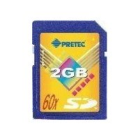 Pretec SD Card 2GB HighSpeed 60x