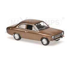 Ford Escort I LHD 1968 (brown metallic)
