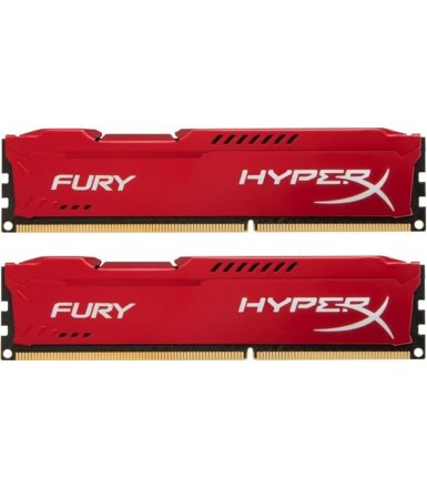 HyperX DDR3 Fury 16GB/ 1866 (2*8GB) CL10 RED