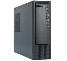 Chieftec FN-03B 350W Slimline m-ATX in black