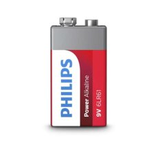 Philips Akumulator Power Alkaline 9V 1szt. blister (LR61)