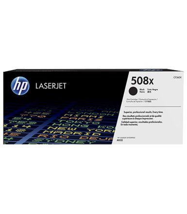 HP Toner 508X High Yield Black 12,5k CF360X
