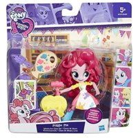 MY LITTLE PONY EQUESTRIA GIRLS MINI Lalki z akcesoriami, Pinkie Pie