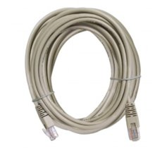 ART Patch cord 10m UTP 5e szary