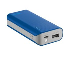 Trust UrbanRevolt Primo PowerBank 4400 Portable Charger - blue