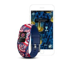 Garmin  Vivofit jr.2 Marvel Kapitan Ameryka