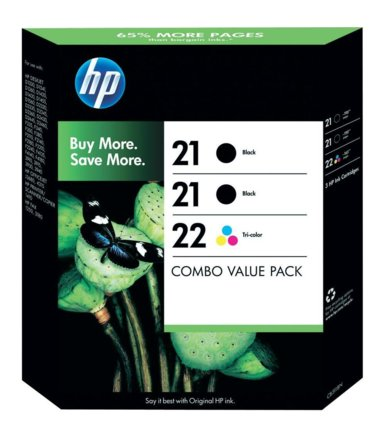 HP No 21+21+22 3-Pack SD400AE