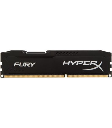 HyperX DDR3 Fury  8GB/ 1600 CL10 BLACK