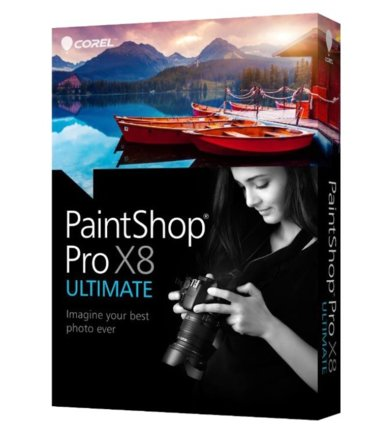 Corel PaintShop Pro X8 Ultimate ML miniBox    PSPX8ULMLMBEU
