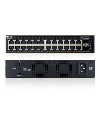 Dell Networking X1026 24x1GbE 2x1GbE SFP