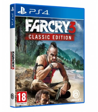 UbiSoft Gra Far Cry 3 Classic Edition PS4