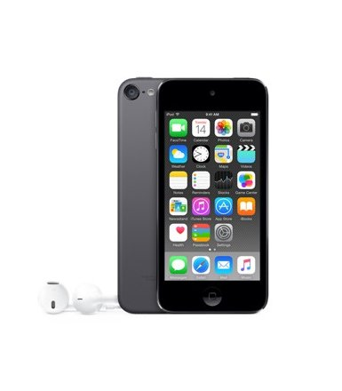 Apple iPod touch 16GB - Space Gray  MKH62RP/A