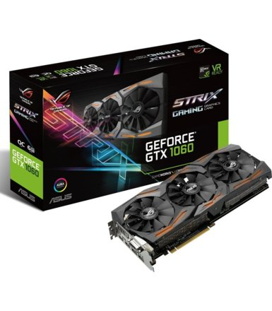 Asus GeForce GTX 1060 6GB GDDR5 192BIT DVI/2HDMI/2DP