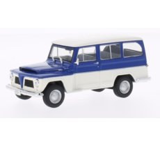 WHITEBOX Willys Rural 19 68 (blue/white)